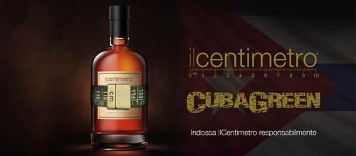IL CENTIMETRO - CUBA GREEN - OLD GOLD VINTAGE