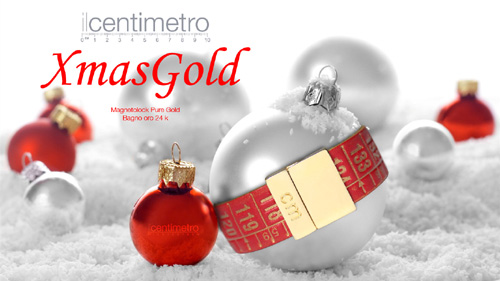 IL CENTIMETRO - RED GOLD - PURE GOLD
